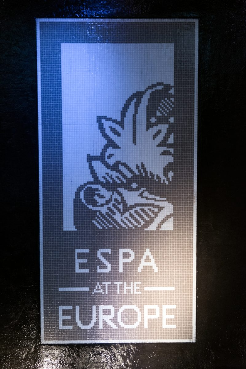 ESPA At The Europe